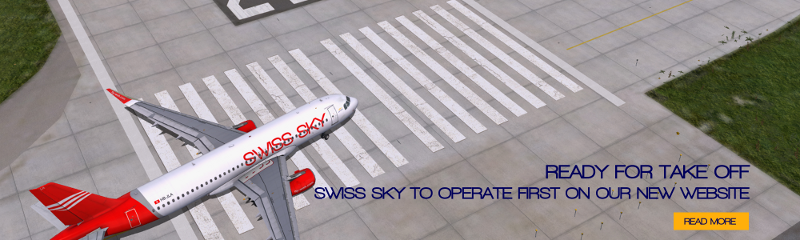 Swiss Sky to start first...